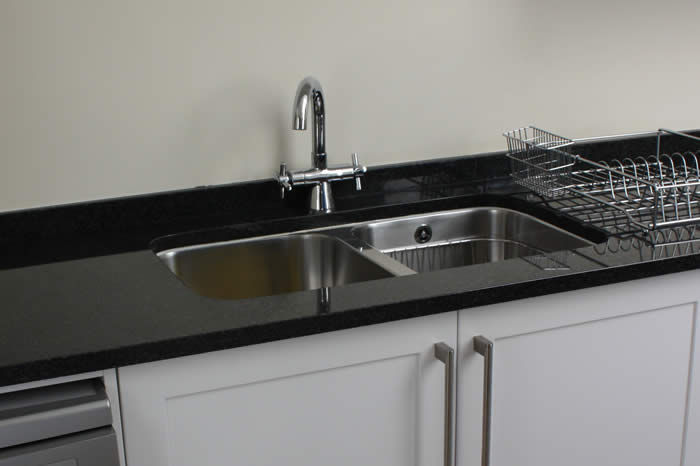 Double-bowl Under-slung Sink
