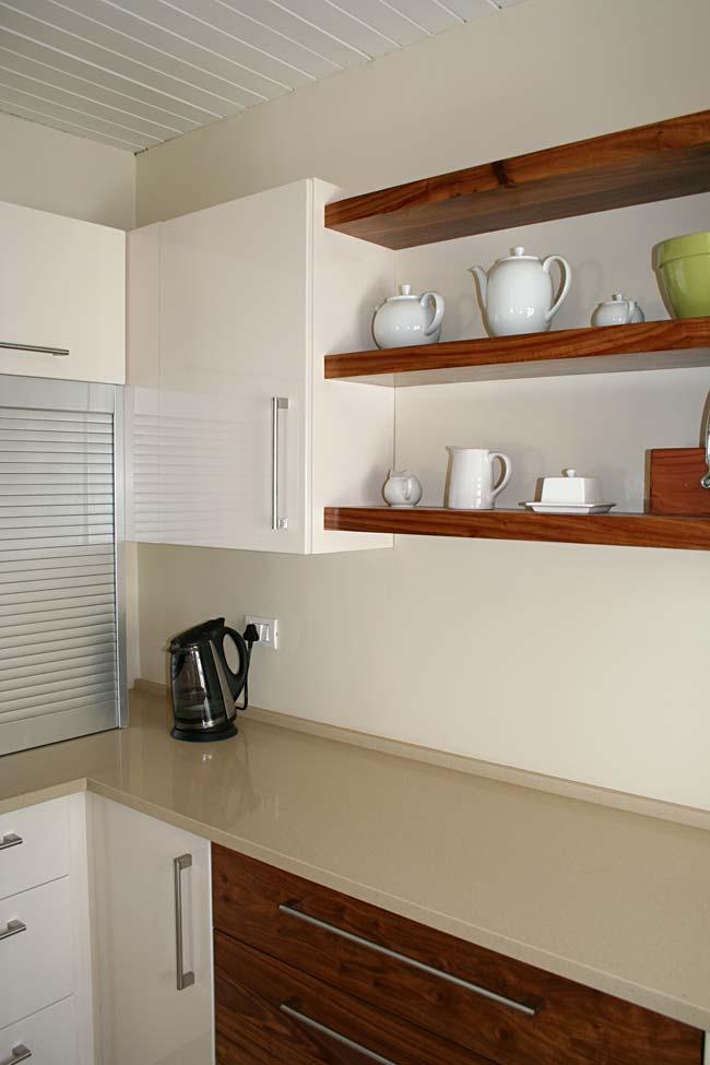 Solid Kiaat Shelves