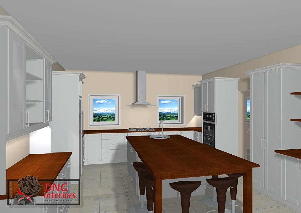 3 Dimensional Visuals - Kitchens
