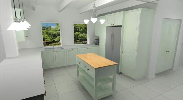 Kitchen Render Noordhoek 2