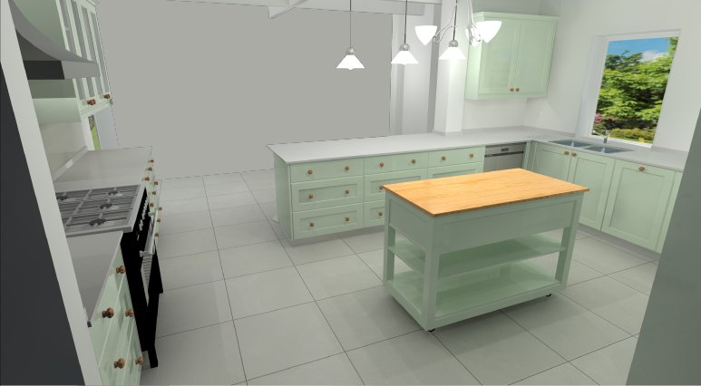 Kitchen Render Noordhoek 3
